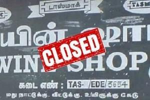 tasmac closed