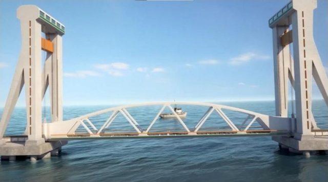 First Vertical Lift Railway Sea Bridge is in full swing at Rameswaram