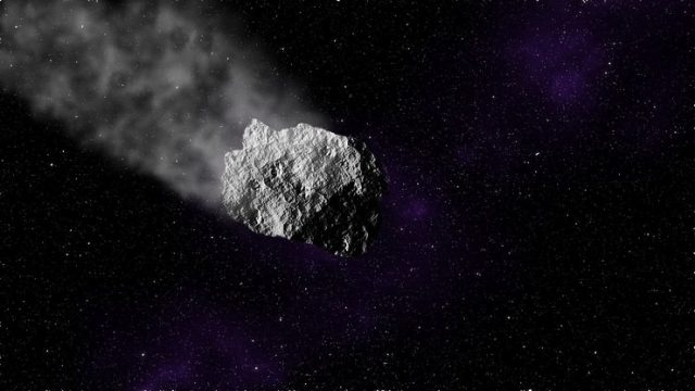 nasa scientists find a meteor near earth