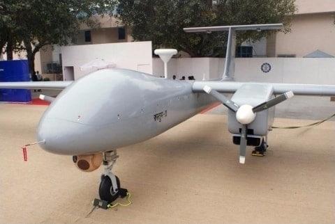 rustom II drone flight